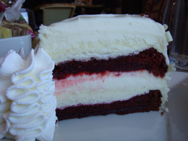Ultimate Red Velvet Cake Cheesecake Calories